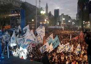 25 DE MAYO:Festival artístico a partir de las 14 en la Plaza