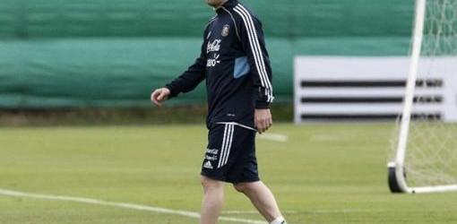 PRÓXIMO MARTES: Messi entrenó con normalidad y se perfila como titular ante Ecuador