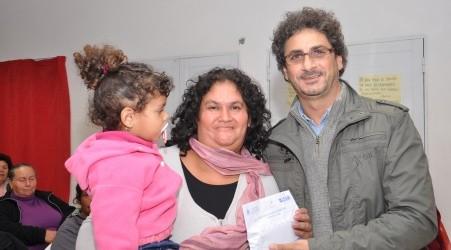 GESTIÓN 2013:  Se entregaron anteojos del proyecto integral interministerial en Sauce de luna