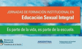 Luego se extenderán a toda la provincia: Se realizarán en Paraná las jornadas nacionales de Educación Sexual Integral