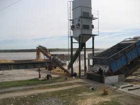 Nuevo cargamento en terminales entrerrianas: Ya se embarcaron 17.000 toneladas de soja este año en Puerto Márquez