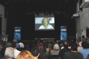 """Presentaron Los Troxler, un documental testimonial: Leonor de Troxler: """"Julio murió para que la Patria viva"""""""