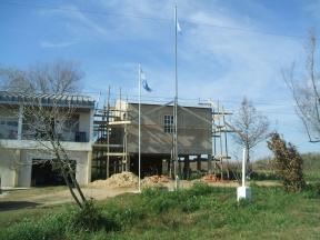 Aula para nivel inicial: Importante inversión en infraestructura para la escuela Tempe Argentino del departamento Islas