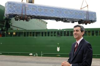 FERROCARRILES: Randazzo recibió 22 nuevos coches para la línea San Martín