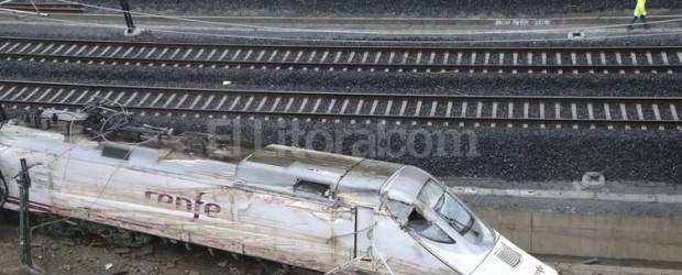 DESCARRILAMIENTO España: la Policía cree que el maquinista del tren causó el accidente por imprudencia