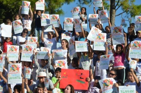 Desde este sábado: Convocan a pintar un mural contra el trabajo infantil