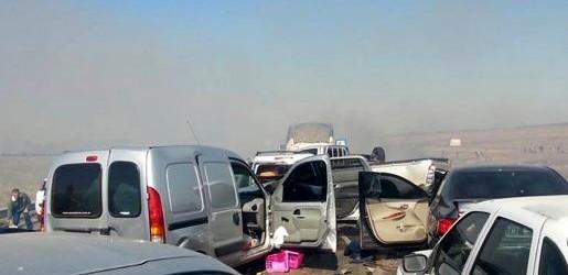 Chascomús: el choque en cadena en la ruta 2 dejó dos muertos y 16 heridos