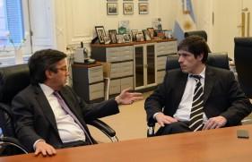 Abal Medina se reunió con el presidente del BID