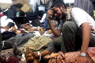 REPRESIÓN VIOLENTA: Son al menos 421 los muertos y 3.572 los heridos en Egipto