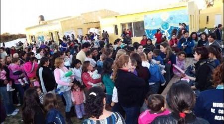 Conscripto Bernardi: Espectacular fiesta del día del niño