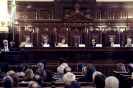 COMUNICACIÓN AUDIOVISUAL: La Corte Suprema convocó a una audiencia pública por la ley de medios para el 28 de agosto