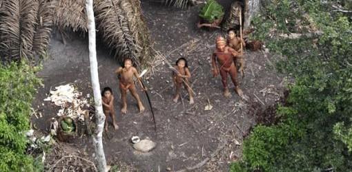 NÓMADES: Difunden en Brasil imágenes de indígenas aislados en la selva