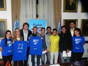 Se realizará el 7 de setiembre con entrada libre y gratuita: La Maratón del Estudiante fue presentada en la Casa Gris