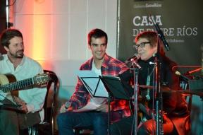 En el auditorio de Radio Nacional: Teresa Parodi presentó una de sus nuevas canciones en el ciclo Entre Ríos de Música