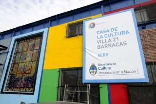 CIUDAD: Inauguran mañana La Casa de la Cultura Villa 21 Barracas