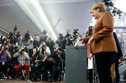 """TÉLAM EN BERLÍN: Merkel, triunfante: """"Es un resultado maravilloso"""""""
