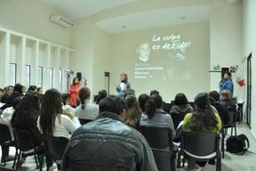 El cine como herramienta de reflexión: Alumnos de la Uader participan de una experiencia en la que arte y educación se entraman
