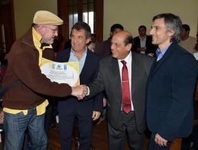 Urribarri y Mussi hicieron la entrega a la cooperativa de Liebig: Entre Ríos recibió aporte de Naciones Unidas para financiar un proyecto ambiental