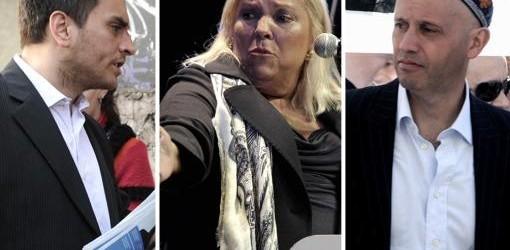 ELECCIONES 2013: Cabandié, Bergman y Carrió debatieron con una fuerte polémica por DDHH