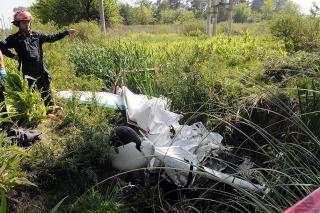 CERCA DE RUTA 24: Murieron dos hombres al caer una avioneta en General Rodríguez