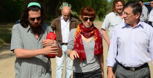 Otra vez la provincia es escenario del mejor cine: Se filma en Victoria una película con Federico Luppi y Sofía Gala