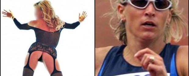 La sexy rubia que pasó de atleta olímpica a prostituta