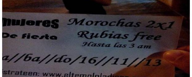 """Nogoyá: El boliche """"el templo"""" organizó un evento con entrada gratis para rubias"""
