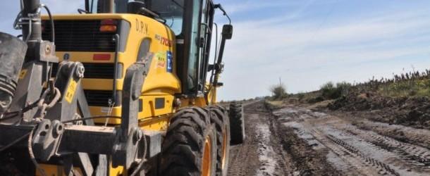 Después de la lluvia: Vialidad trabaja en la recuperación de caminos del norte entrerriano afectados por las lluvias