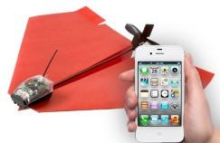 Controlá tus avioncitos de papel con tu smartphone