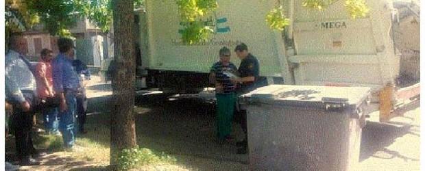 Encontraron el cuerpo de un bebé en un contenedor