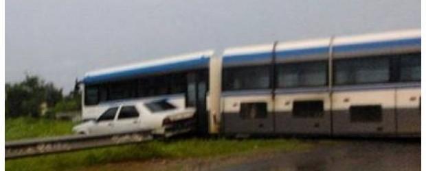 Formación ferroviaria protagonizó un choque en Paraná