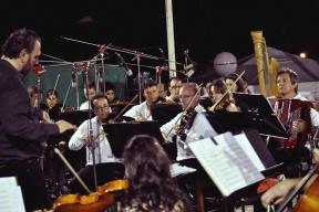 Costa del Uruguay: Concierto bajo las estrellas de la Orquesta Sinfónica en el Palacio San José