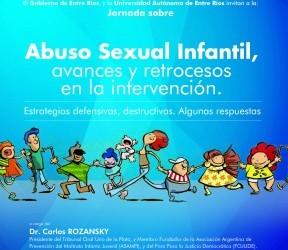 Carlos Rozanski en Paraná: Se realizará una jornada sobre la intervención en casos de abuso sexual infantil