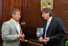 El vicepresidente viene a Entre Ríos: Boudou y Urribarri inaugurarán mañana el polideportivo de Gualeguay