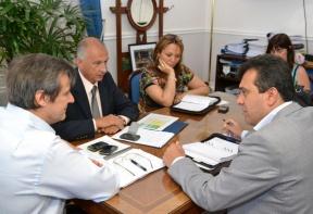 BOVRIL: Bahl recibió al intendente Blochinger y se avanza en las gestiones para la creación de un parque industrial en Bovril