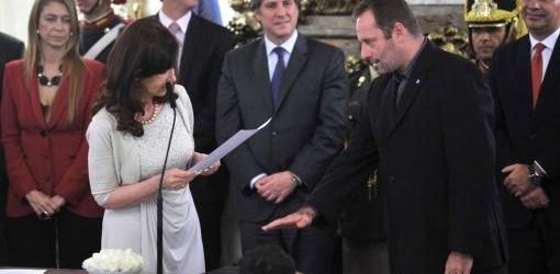 CASA DE GOBIERNO: La Presidenta le tomó juramento a los titulares de Seguridad y la Sedronar