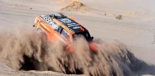 DAKAR 2014: La competencia cruza la frontera y se acerca al desierto de Atacama