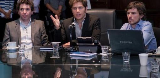 """EN LA SECRETARÍA DE COMERCIO: Kicillof defendió los """"Precios Cuidados"""" ante maniobras especulativas"""