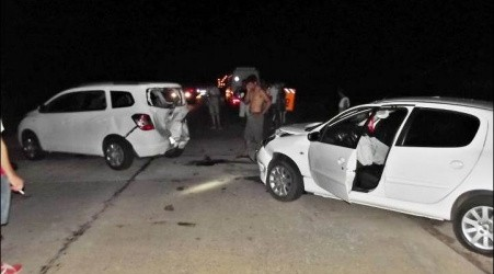 Accidente: Colisión sin lesionados sobre la ruta nacional 127