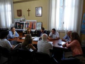 Reunión de trabajo: Diagraman un acuerdo de precios para el sector de la construcción