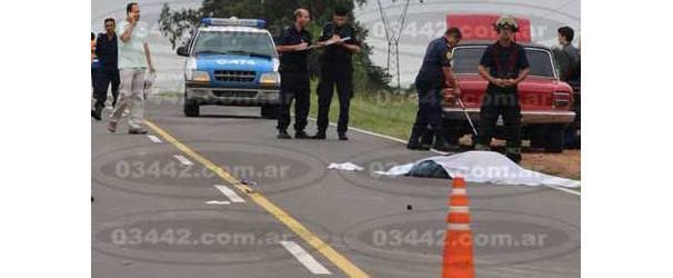 Fatal: Murió atropellado al querer ayudar a jóvenes que habían sufrido intento de robo