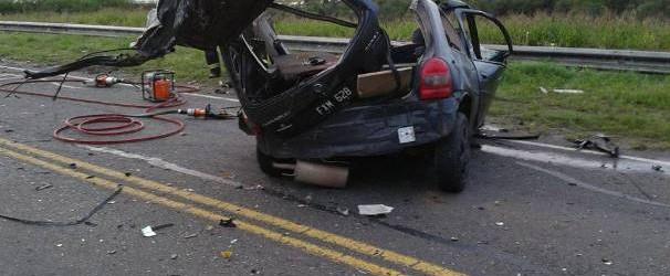 Trágico: Falleció un joven de 18 años en un accidente en la ruta 18