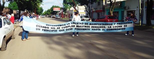 Federal: Agmer Federal se moviliza a Plaza Urquiza