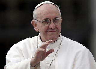 El papa Francisco se encuentra reunido con Barack Obama
