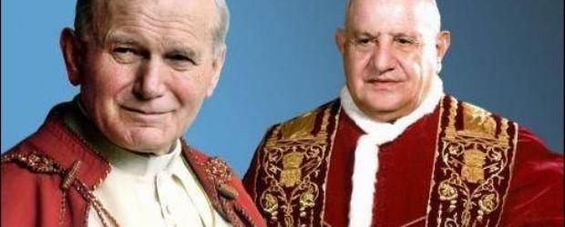 DÍA DE LOS 4 PAPAS : Todo listo en el Vaticano para las históricas canonizaciones de dos papas