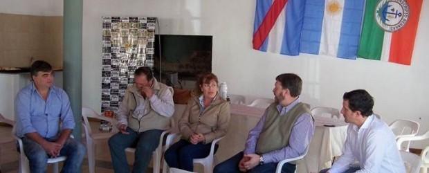 ESTE MARTES:  Roberto Schunk visitó Conscripto Bernardi