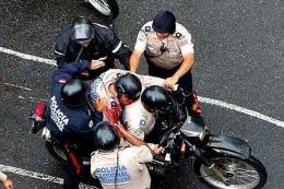 CARACAS Venezuela: un policía murió baleado durante una protesta opositora