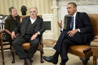 """ESTADOS UNIDOS: Mujica, tras reunirse con Obama: """"Hay que hablar menos y respetar más los derechos humanos"""""""