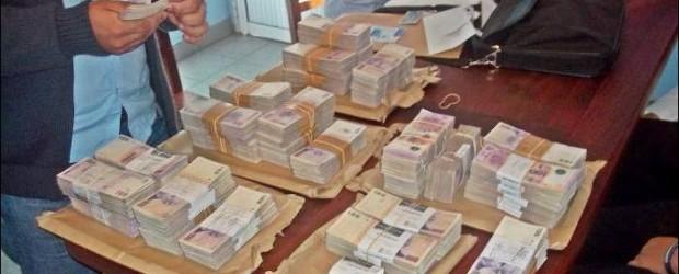 Puesto caminero Federal:  Un hombre viajaba con 1 millón de pesos y no pudo justificar su procedencia