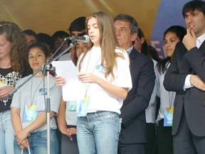 La experiencia fue compartida por alumnos de todo el país: Estudiantes entrerrianos participaron del Parlamento Federal Juvenil